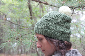 Unisex (adult, teen) knit beanie Tributary 1