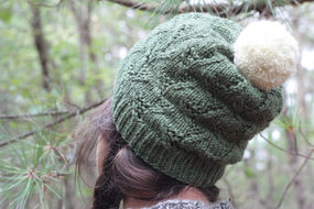 Unisex (adult, teen) knit beanie Tributary