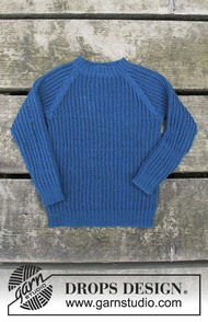 Unisex (children, toddler) knit pullover Perkins