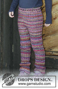 Unisex (children, toddler) pants Winter Fable