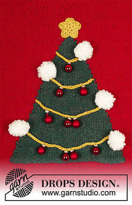 Unisex knit pullover How To Be A Christmas Tree 2