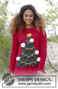 Unisex knit pullover How To Be A Christmas Tree