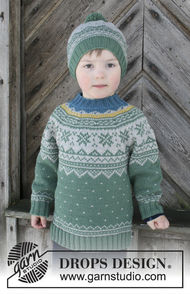 Unisex (toddler, children) knit pullover Seiland Jumper