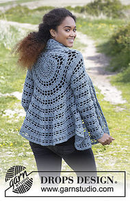 Women's and girls crochet cardigan Ornella 2