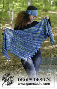 Women's and girls (teen) shawl wrap Winter Tide