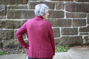 Women's knit cardigan Peverly. Free written pattern. 3