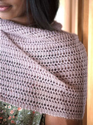 Women's knit scarf Abbott. 2
