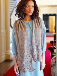 Women's knit scarf Waterhouse 1