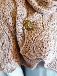 Women's knit scarf Waterhouse