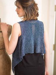 Women's knit vest Leni. 2