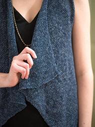 Women's knit vest Leni. 3