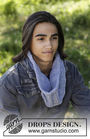 Boys and girls (teen) cowl Femund. Free knitting pattern (ribbed ribbing).