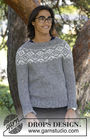 Boys and men's knit pullover Ashbury Park. Free easy pattern (circular yoke).