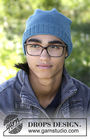 Girls and boys (teen) beanie Tamineh. Free knitting pattern (ribbed ribbing).