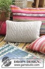Pillow Morgan's Daughter. Free knitting pattern.