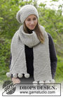 Unisex (adult, teen) knit beanie Heidrun. Free pattern (video tutorial, written pattern).