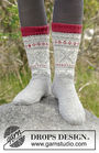 Women's and girls knit dutch heel (socks mid calf, toe wide) Narvik Socks. Free easy pattern.