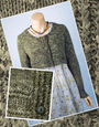 Women's cardigan Bantam. Free downloadable knitting pattern.