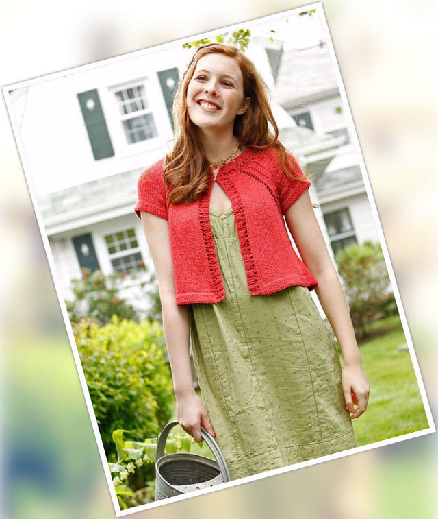Adults knit cardigan Tolland. Free download pdf pattern (twisted stitches).