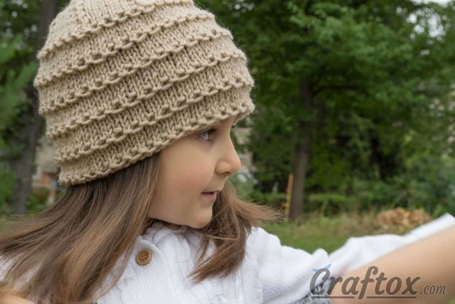 Free Knitting Pattern Beanie Easy : Easy beanie knitting pattern. Free.